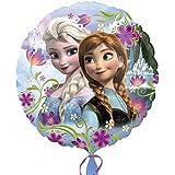 (アナグラム) Anagram Disney 子供用 アナと雪の女王 オフィシャル商品 エルサ アルミ風船 パーティー バルーン 誕生日 (18in) (マルチカラー)