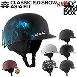 あす楽対応 SANDBOX/サンドボックスヘルメット CLASSIC 2.0 SNOW ASIA F