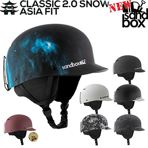 SANDBOX/サンドボックスヘルメット CLASSIC 2.0 SNOW ASIA FIT クラシック スノー アジアン フィット ツバ...