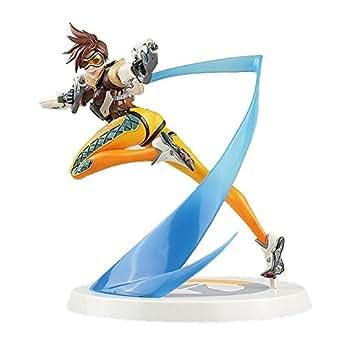 オーバーウォッチ フィギュア トレーサー Overwatch Tracer Blink Recall Figure Statue Model 26cm