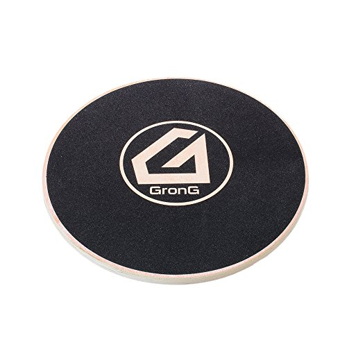 GronG(グロング) バランスボード バランスディスク 体幹トレーニング 木製 エクササイズ フィットネス 直径約40cm