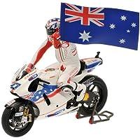 Minichamps 1/12 ドゥカティ デスモセディチ GP09 2009 モトGP オーストラリア #27 C.ストナー フィギュア付 完成品