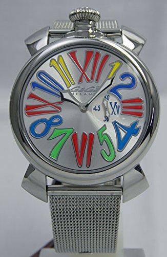[ガガ ミラノ] GAGA MILANO 腕時計 MANUALE SLIM 46MM ACCIAI・・・