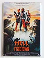 Hell Comes to Frogtown映画ポスター冷蔵庫マグネット( 2.5X 3.5インチ)