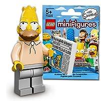 レゴ(LEGO) ミニフィギュア ザ・シンプソンズ シリーズ1 シンプソンおじいちゃん(エイブ)|LEGO Minifigures The Simpsons Series1 Grampa Simpson 【71005-6】