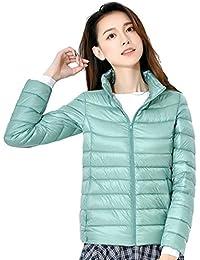 Showlovein ライトダウン ジャケット レディース ウルトラライトダウン コート軽量 防風 防寒 ジャケット