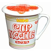 カネミ美和 日清カップヌードル 醤油 蓋付きマグカップ