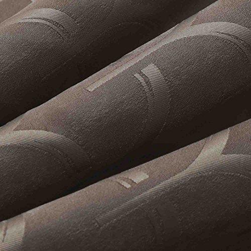 【オーダーカーテン】ドレープカーテン・ワイマール(ブラウン)幅200×丈201cm 1枚