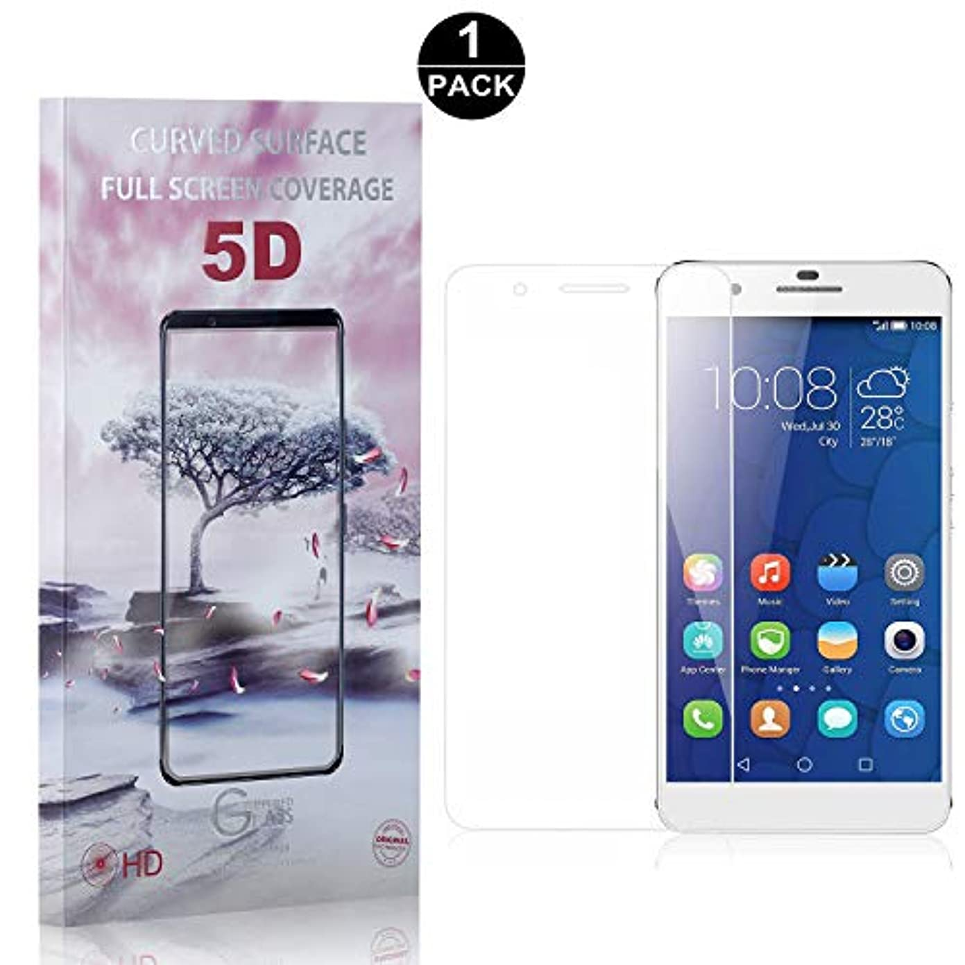 剥ぎ取るロースト発火する【1枚セット】 Huawei Mate 9 Lite 硬度9H ガラスフィルム CUNUS Huawei Mate 9 Lite 専用設計 強化ガラスフィルム 高透明度で 99%透過率 気泡防止 耐衝撃 超薄 液晶保護フィルム