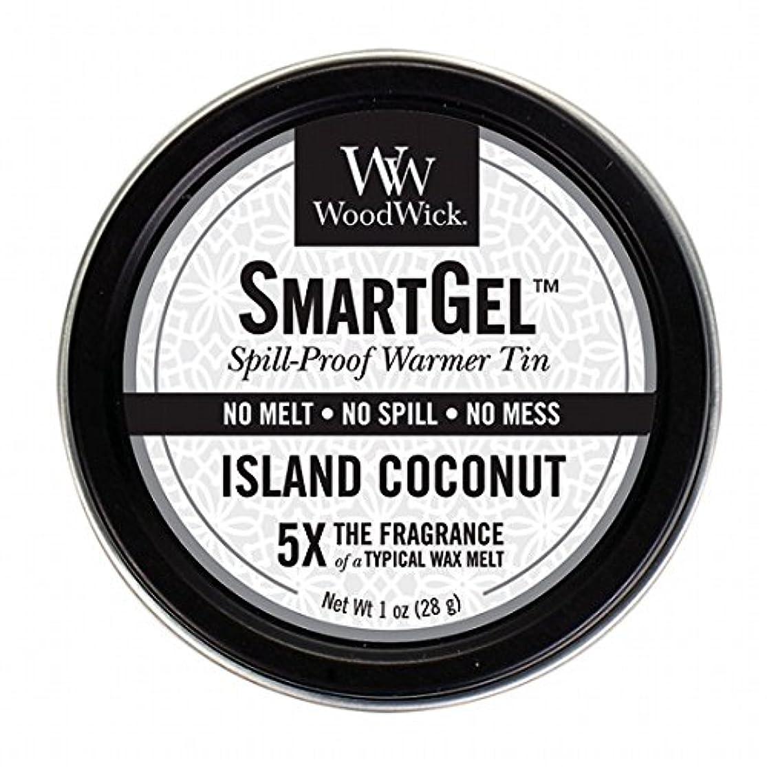 過度に定義する長いですウッドウィック( WoodWick ) Wood Wickスマートジェル 「 アイランドココナッツ 」 W9630560