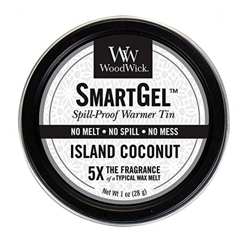 WoodWick(ウッドウィック) Wood Wickスマートジェル 「 アイランドココナッツ 」 W9630560(W9630560)