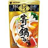 ミツカン 〆まで美味しい 寄せ鍋つゆ 750g