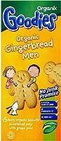 Organix Goodies Organic Gingerbread Men 12mth+ (15 per pack - 135g) Organixは(パックあたり15-135グラム) 、有機ジンジャーブレッドの男性の12Mth +がグッズ