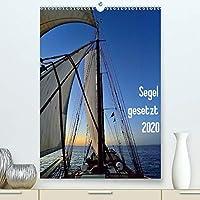 Segel gesetzt 2020(Premium, hochwertiger DIN A2 Wandkalender 2020, Kunstdruck in Hochglanz): Segelimpressionen auf einem 2-Mast-Schoner (Monatskalender, 14 Seiten )
