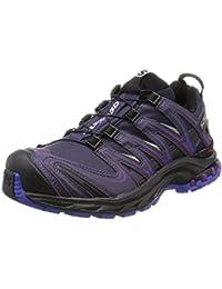 [サロモン] トレッキングシューズ XA PRO 3D ゴアテックス レディース 防水 登山靴