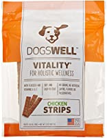 Dogswell All Natural Vitality Soft Chicken Jerky Strips Pet Treats for Dogs 5z