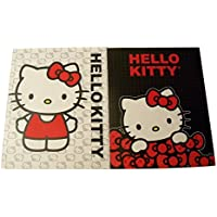Hello Kitty 2 Folder Set Kitty with White Kitty Face Background, Kitty with Red Bows