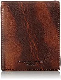 [キャサリンハムネットロンドン] 財布 高級イタリアベジタブルタンニンレザー FLUID フルイド 二つ折りボックス 490-59201