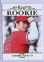 """リーフShohei Ohtani 2018"""" 1st Ever Printedドラフトルーキーカード# ra-01。日本Phenom 。"""