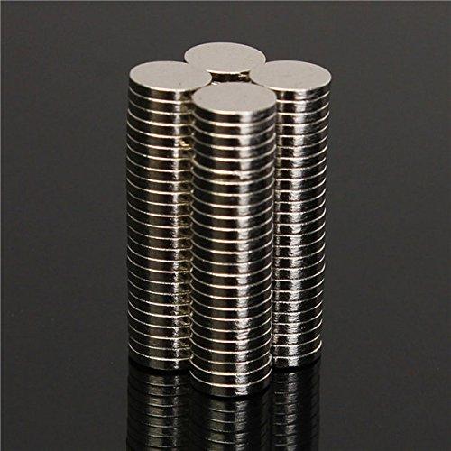 Sndy ポーレックス N52 6x1mm ディスクネオジム磁石強力な希土類小型冷蔵庫磁石...