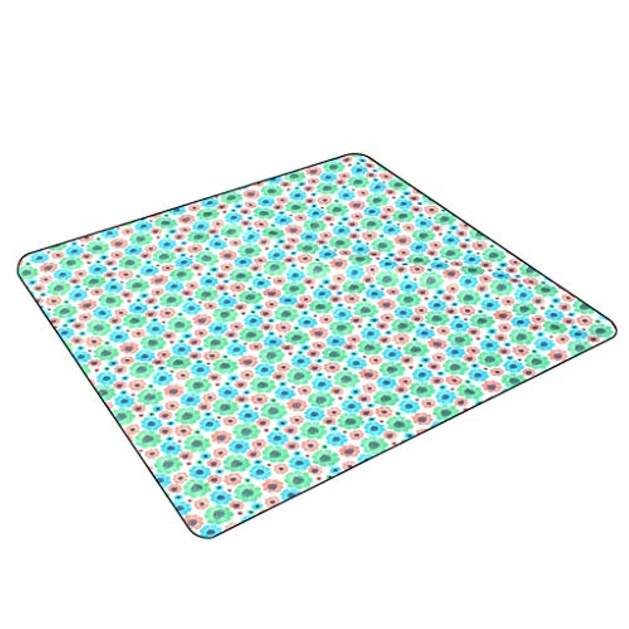 テラス仲人音節折りたたみピクニック毛布屋外オックスフォード布ビーチマットピクニックマット防水サンドプルーフキャンプハンドル付きファミリーデーアウト、旅行 (Size : 200*200cm)