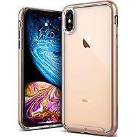 Caseology iPhone XS Max(6.5インチ)用ケース Skyfall Series TPU/PC ミリタリーグレード通過(米国防総省ドロップテスト) CO-A18L-SKY (ゴールド)