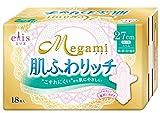 エリス Megami 肌ふわリッチ 特に多い日の昼用 羽つき 18枚入