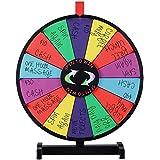 "24"" Multi Color Prize Wheel Tabletop Editable Game Dry Erase Fortune Carnival"