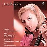 ローラ・ボベスコ ~ ルーマニア・エレクトレコード録音全集 II (モノラル編) (Mozart   Bach   Stravinsky   Nin / Lola Bobesco (violin)) [3LP] [Limited Edition] [日本語帯・解説付] [Analog]