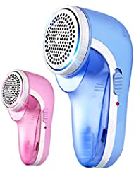 NN ファブリックシェーバー - リントリムーバー衣類シェーバー携帯用リチャージブルボブファブリックシェーバー 衣類ケア機器 (色 : ピンク, サイズ さいず : 4 blade)