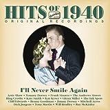 1940年のヒット曲集「アイル・ネヴァー・スマイル・アゲイン」