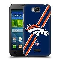 オフィシャル NFL ストライプ デンバー・ブロンコス ロゴ ハードバックケース Huawei Y541