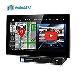 (TA101P) XTRONS 最新 Android7.1 静電式 2DIN 一体型車載PC DVDプレーヤー 10.1インチ 高画質 RAM2GB OBD2 HDMI出力 3G/4G WIFI TPMS搭載可 ミラーリング GPS