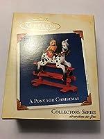 Hallmark Keepsake A Pony for Christmas 2005 Christmas Ornament [並行輸入品]