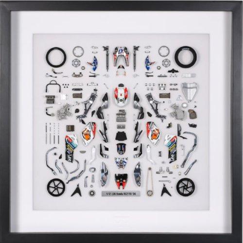パーツパネルコレクション No.3 1/12 LCR Honda RC211V '06 パーツパネル