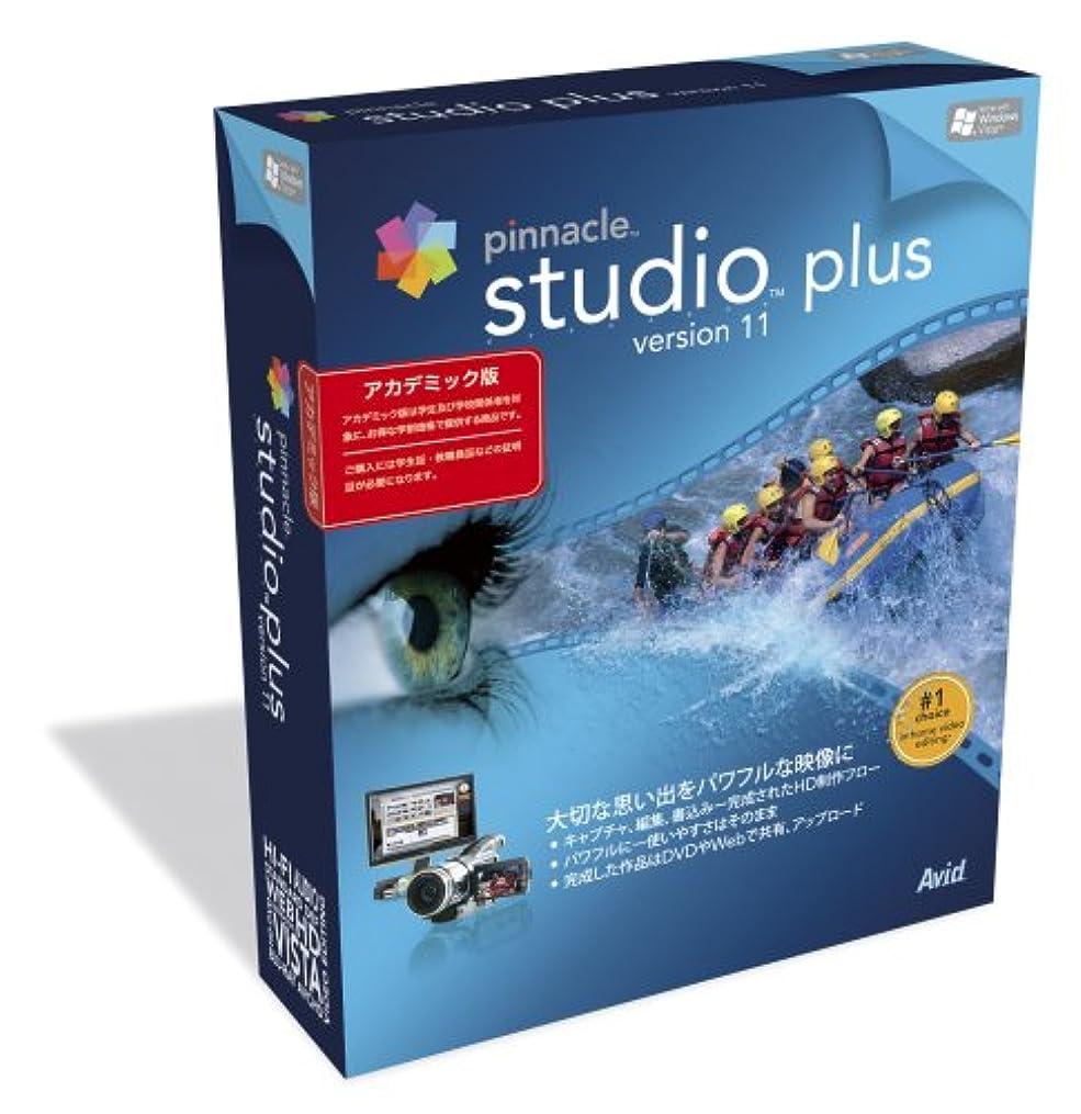 文芸役に立たない腰Pinnacle Studio plus version 11 アカデミック版