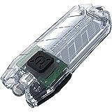 Nitecore T Series Tube Transparent USB Charging Keyring. Integrated Li-ion Battery. Tiny USB Rechargeable Light, 1 - 45 Lumen