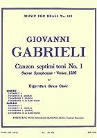 ガブリエリ : 第七旋法によるカンツォン (金管四重奏) ルデュック出版