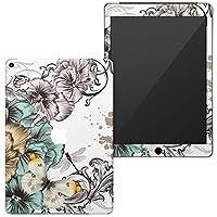 igsticker iPad 6(2018) 9.7インチ 専用スキンシール フルカバータイプ apple iPad 6 シール 第6世代 アップル アイパッド A1893 A1954 全面スキンシール フル 背面 側面 正面 液晶 ステッカー タブレット 保護シール 006420