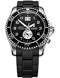 ビクトリノックス Victorinox Swiss Army Men's 241440 Maverick GS Dual Time Black Double Date Dial Watch 男性 メンズ 腕時計 【並行輸入品】
