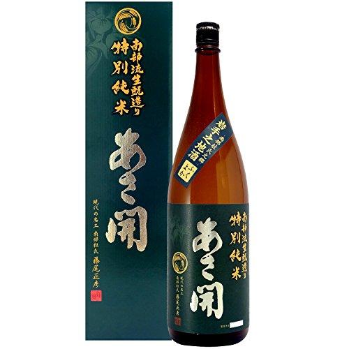 きもと造り 特別純米酒 瓶1.8L