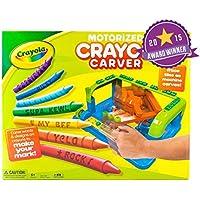 Crayola MotorizedクレヨンCarver、Makes It Easy For Kids Toエッチングその名前に、メッセージ、またはデザインお気に入りクレヨン。