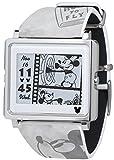 [エプソン スマートキャンバス]EPSON smart canvas ミッキーマウス ヴィンテージシリーズ グレー 腕時計 W1-DY10120