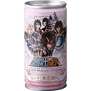 聖闘士星矢 LEGEND of SANCTUARY ピーチ30%飲料 190g * 30缶