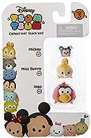 Disney Tsum Tsum Series 3 Mickey Miss Bunny & Iago 1 Minifigure 3-Pack #101 311 & 330 [並行輸入品]