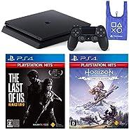 PlayStation 4 + The Last of Us Remastered + Horizon Zero Dawn Complete Edition + オリジナルデザインエコバッグ セット (ジェット・ブラック
