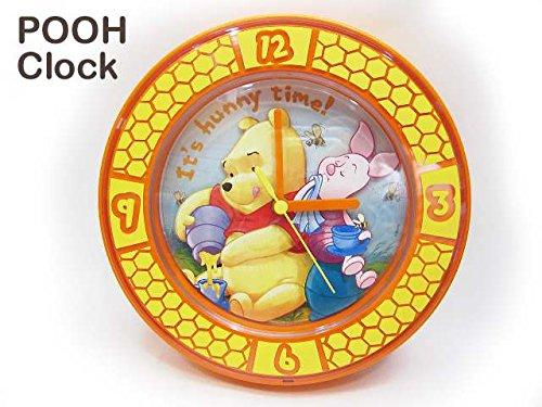 くまのプーさん ディズニー はちみつ 時計 クロック 壁掛け時計 置時計 DISNEY
