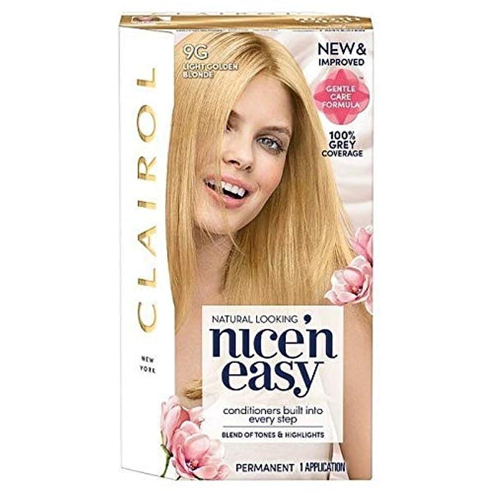 保証金新年裏切る[Nice'n Easy] Nice'N簡単に9グラム光金色のブロンド - Nice'n Easy 9G Light Golden Blonde [並行輸入品]