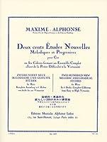 マキシム・アルフォンス : ホルンのための新しい200の練習曲集 第1巻/ルデュック社
