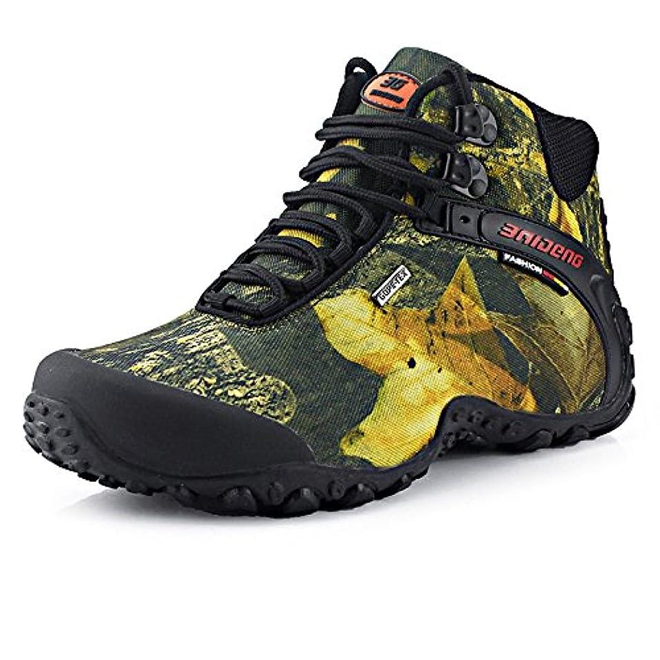 パンサー完璧なパンサー[WARRIOR] Men's Hiking boots メンズ ハイキングシューズ トレッキングシューズ ウォーキング 防滑 登山靴